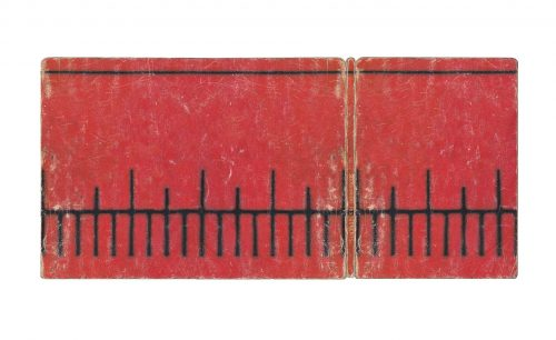 Hard Cover (Red) - Digital print on paper laminated on Dibond